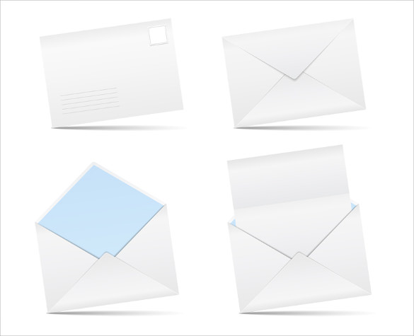 downloadable letter envelope template