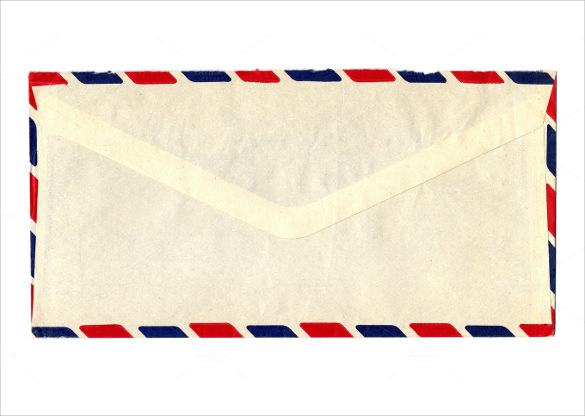 printable letter envelope template