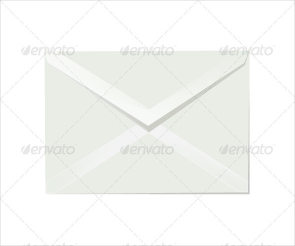 letter envelope template to print