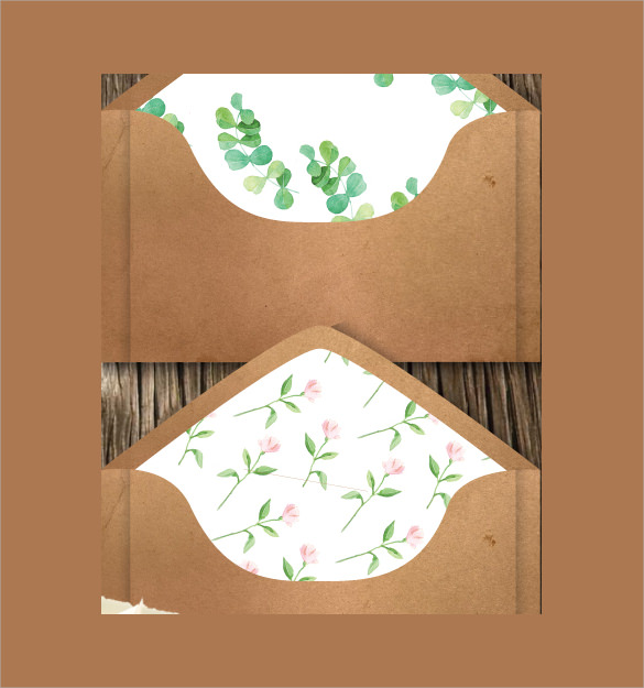 Wedding Cards Envelope. Wedding Card Envelope Template 17 Free