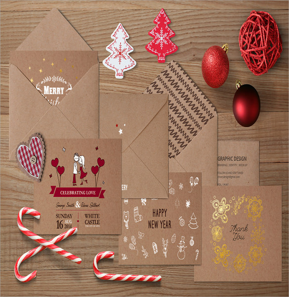 Wedding Card Envelope Template - 10+ Samples , Examples & Formats