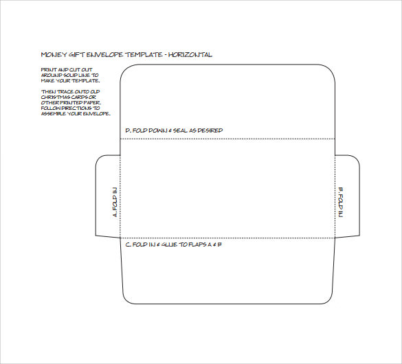 Money Envelope Template -7 + Samples , Examples & Format