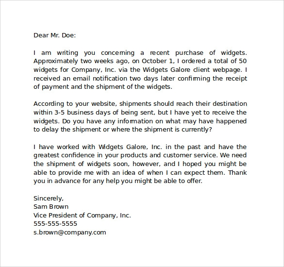 Sample informal letter 7 documents in pdf word informal business letter format spiritdancerdesigns Choice Image