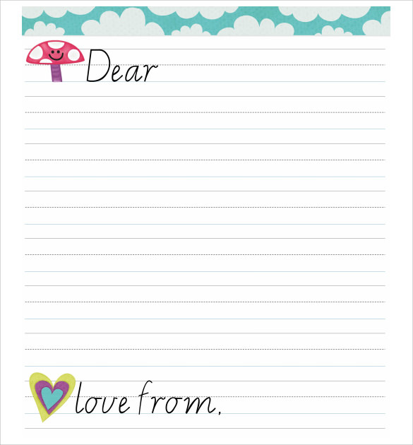 letter format for kids 8 letter format for samples examples format 22834 | Letter Format for Kids Example