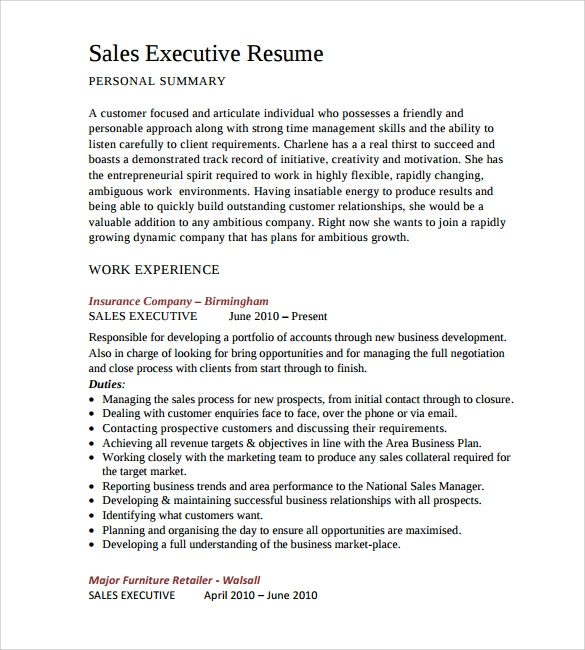 it sales resume