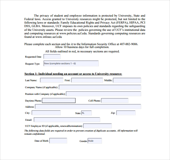 Sample Computer Service Request Form 12 Download Free Documents – Computer Service Request Form