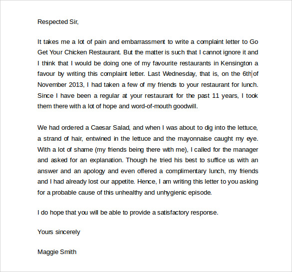 Sample Apology Letter to Customer 7 Documents In PDF Word – Example of Apology Letter to Customer