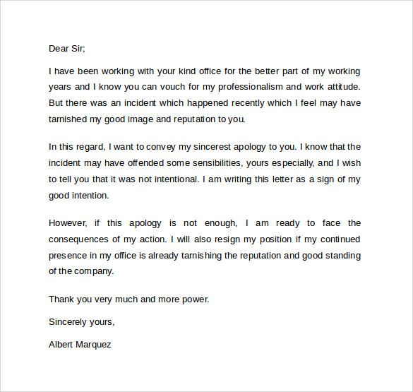 Hotel Apology Letter  BesikEightyCo