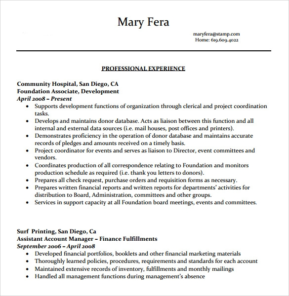 professional resume template 2016 .