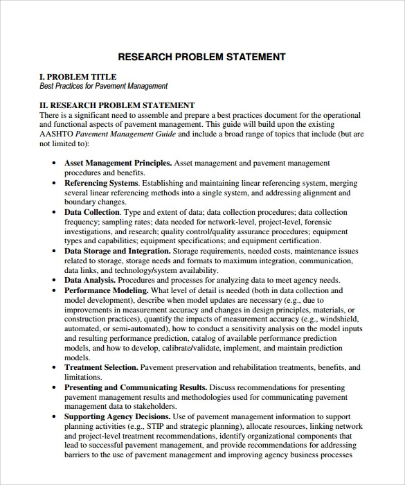 research problem statement Need grant help get expert advice on writing your proposal, avoiding common pitfalls, and completing the submission process for educational grants.