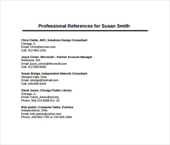 Resume References Necessary   BestSellerBookDB