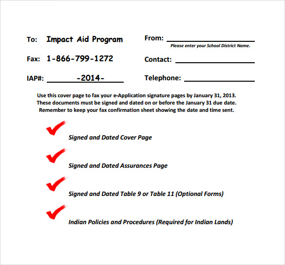 personal standard fax cover sheet