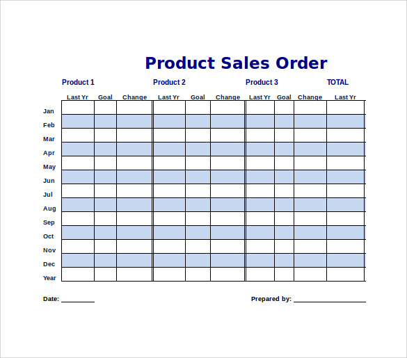 Doc403512 Sales Order Template Example Sales Order Template – Sample Sale Order Template