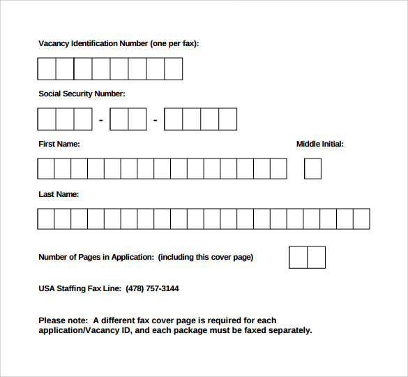 Sample Fax Cover Sheet 8 Documents In Pdf Word