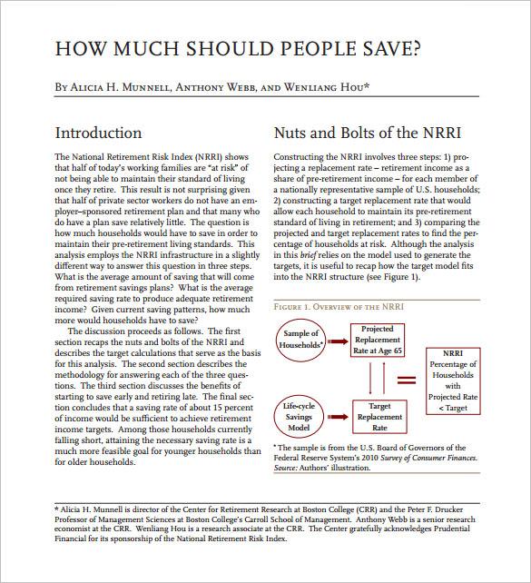 free pdf retirement and savings calculator
