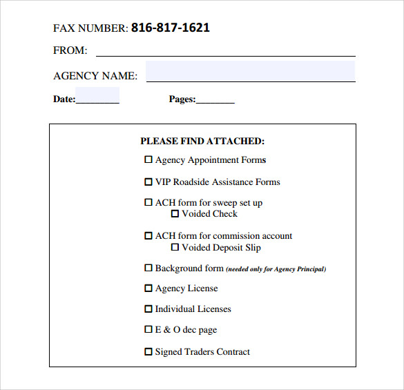 printable general fax cover sheet