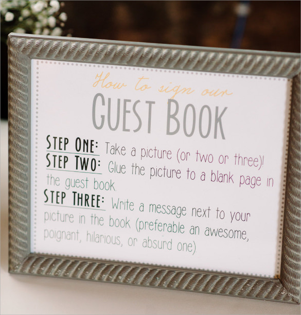 Basic Business Guestbook An Elegant Vintage Wedding In Haldimand