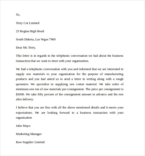 simple business letter1