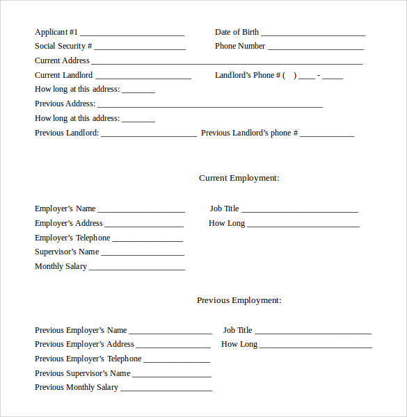 Lease Agreement Contract Printable Residential Free House