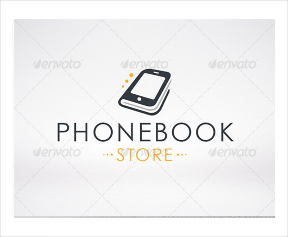 phonebook logo template