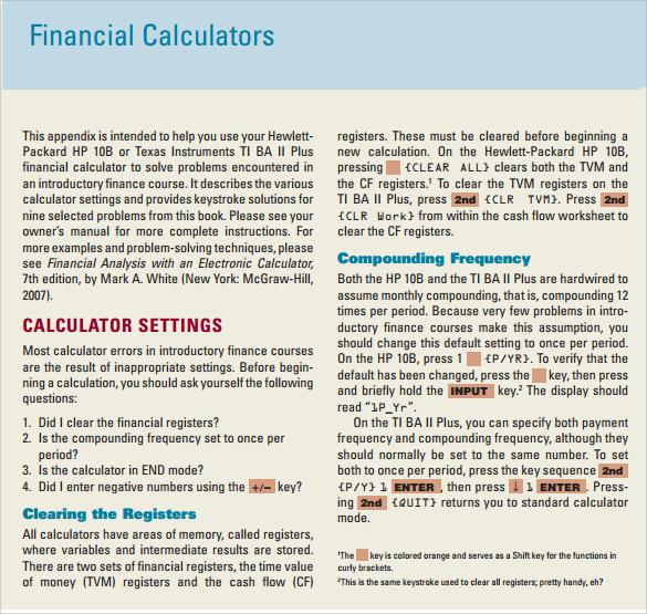 printable financial calculator