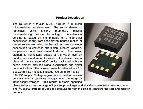 product description template - gerhard-leixl.tk