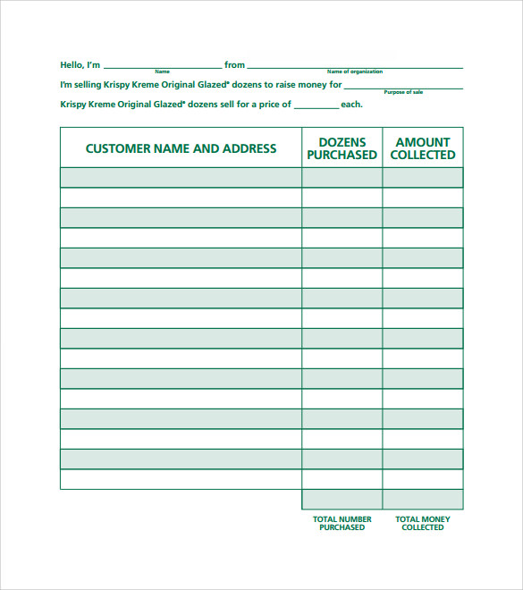 free 10  sample sales order templates in ms word