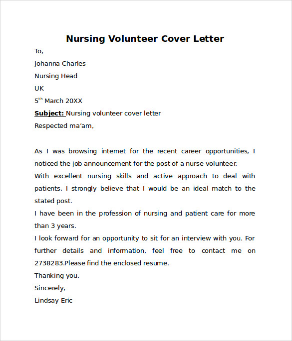writing a nursing cover letter for a resume Writing cover letters what is a cover letter the career advising and planning services and take a look at our workshp on writing resumes and cover letters.
