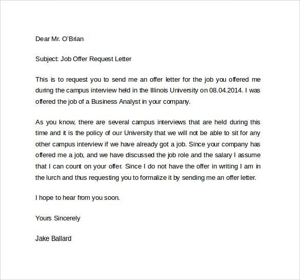 offer letter template1