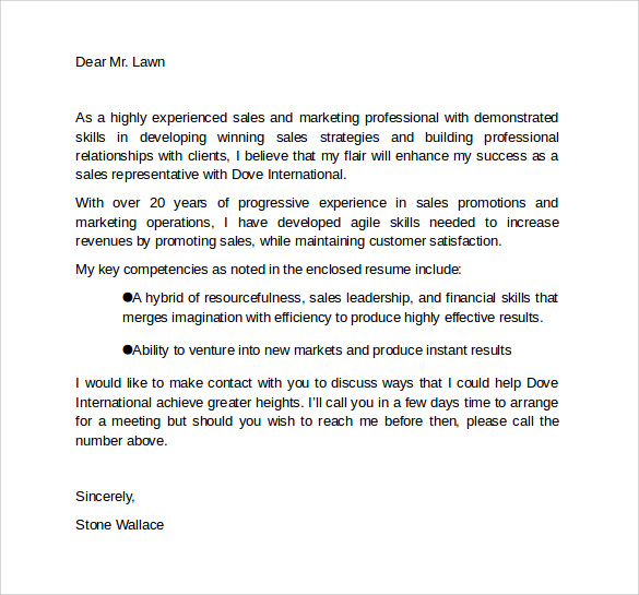 marketing cover letter template 9 download free documents in pdf