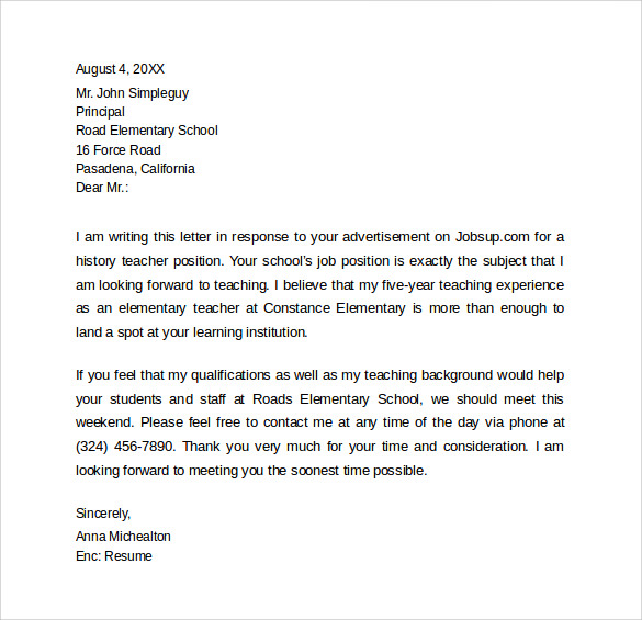 How To Make A Sample Cover Letter For A Resume