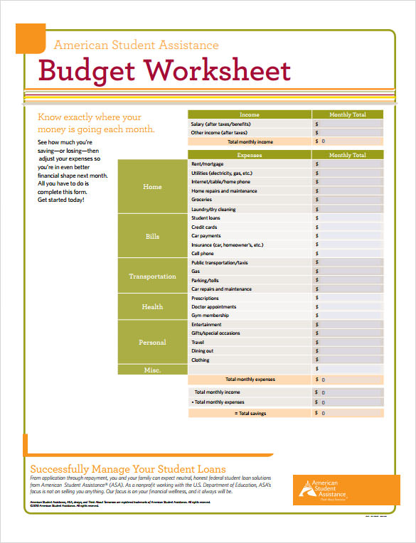 Sample Budget Calculator - 8+ Documents In Pdf
