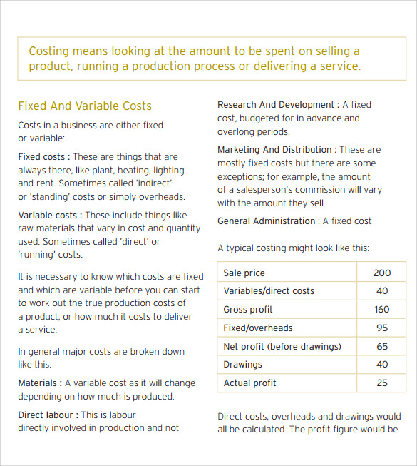 product pricing calculator free