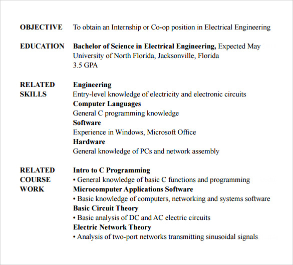 Entry Level Computer Technician Resume Best Business Template  Objective For Entry Level Resume