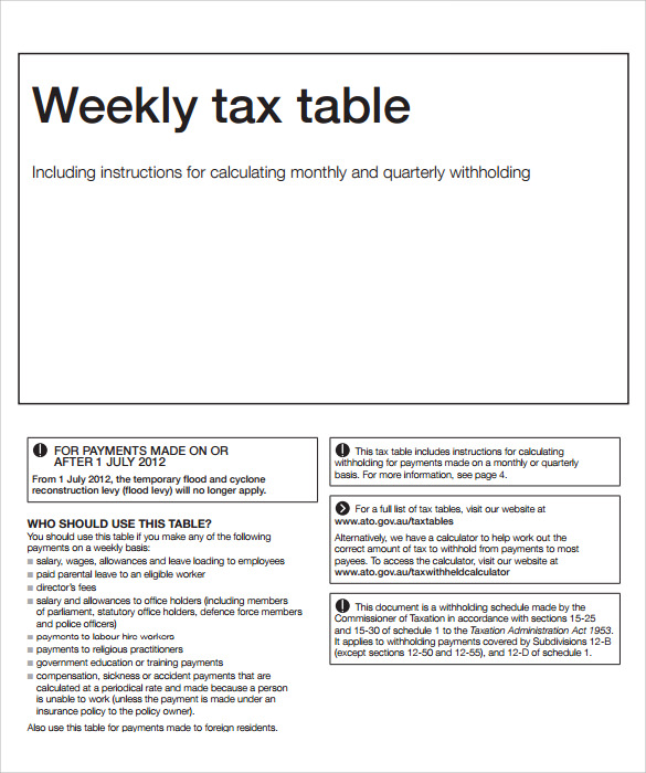 Sample business plan income tax