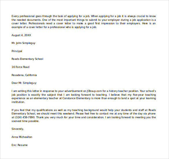 Amazing Microsoft Word Cover Letter Template