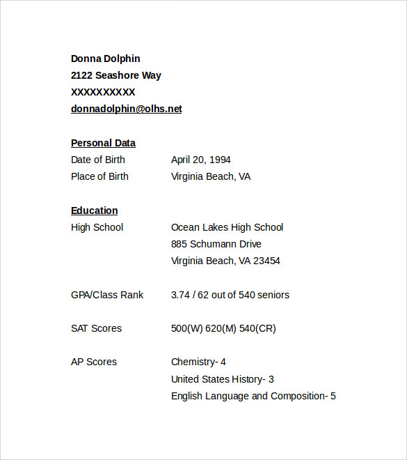 academic resume template microsoft word professional cv higher education templates