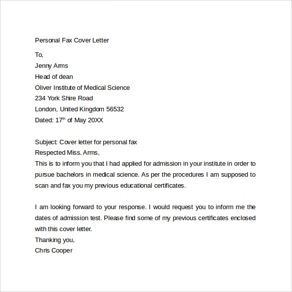 Personal Assistant Cover Letter Example Icover Application Letter