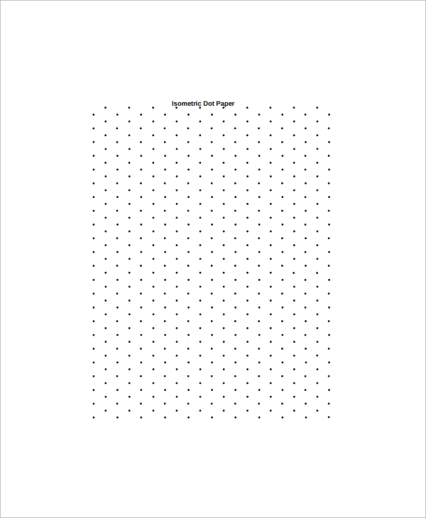Free Isometric Paper  Sample Ideas