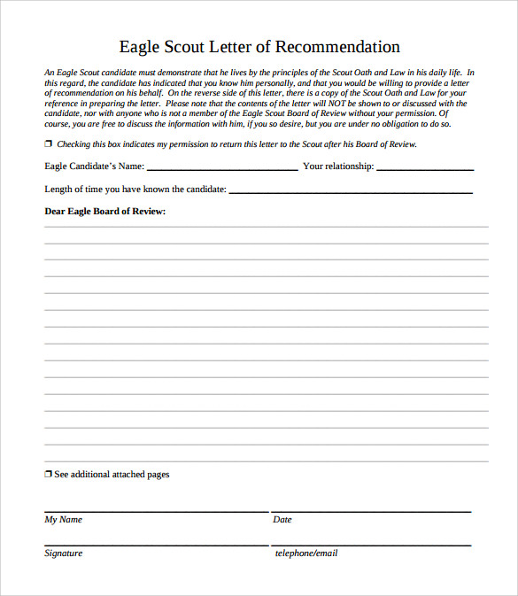 eagle scout letter of recommendation eagle scout letter of recommendation 9 1193