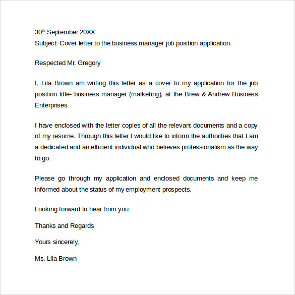 business resume cover letter3