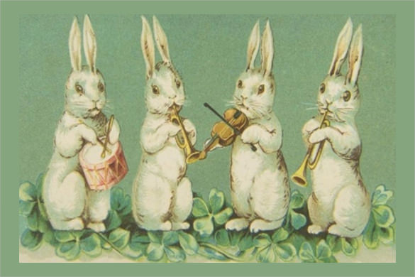 fabulous easter greeting card