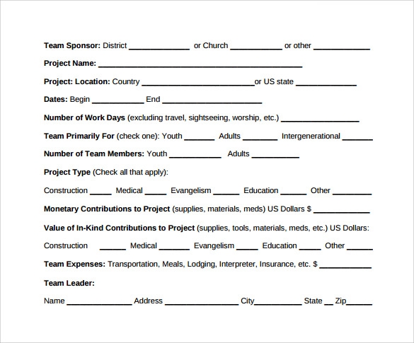 Sample Trip Report   Documents In Word Pdf