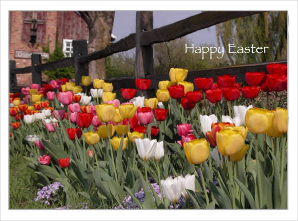 easter greeting card download