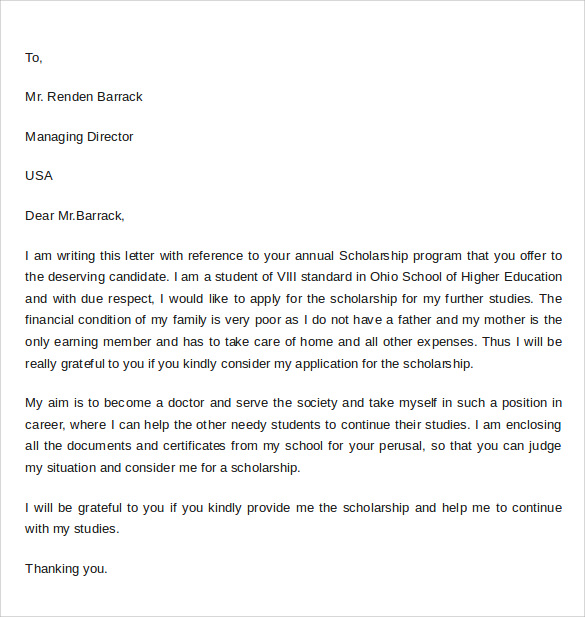 cover letter for scholarship Cover letter for journal submission gorgeous writing effective from tittle cover letter for scholarship application.