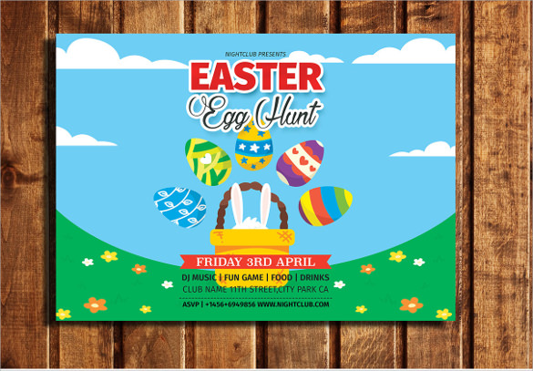 marvelous easter flyer
