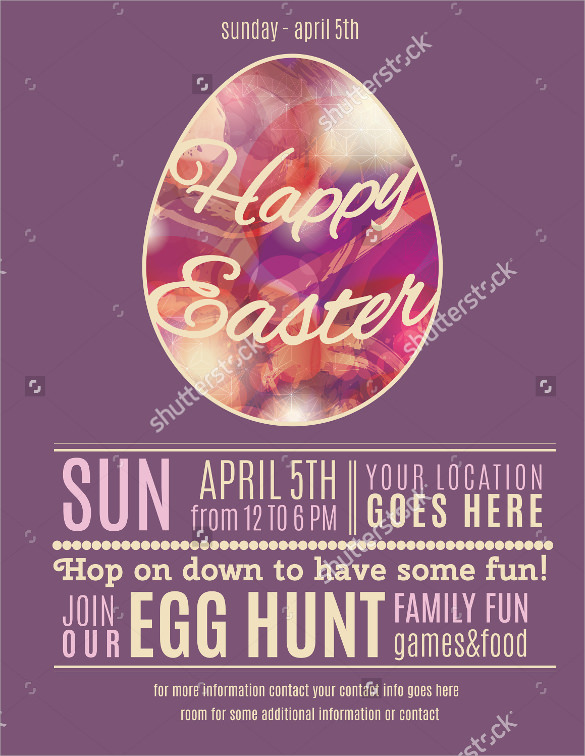 amazing easter flyer
