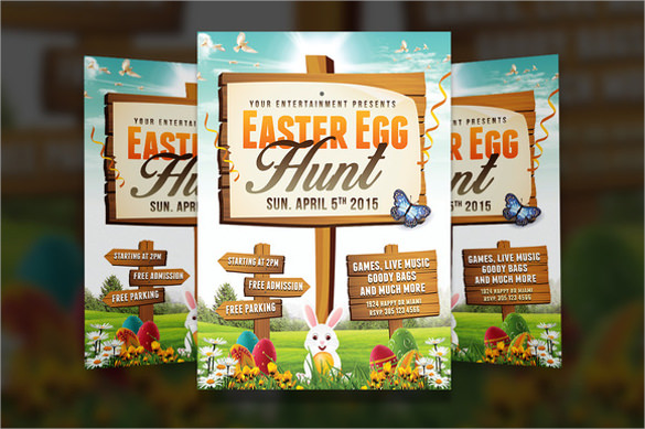 spectacular easter flyer