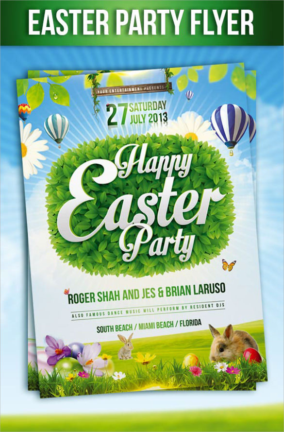 fabulous easter flyer