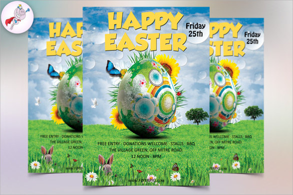 fantastic easter flyer
